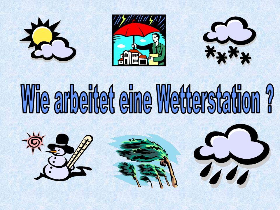 Wie arbeitet eine Wetterstation