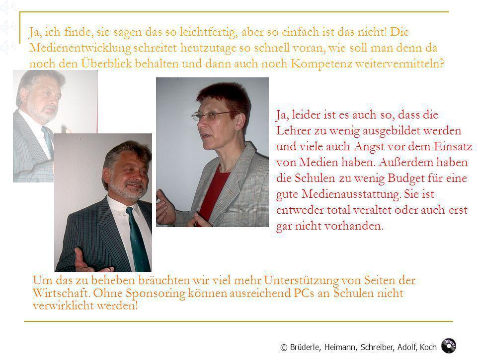 © Brüderle, Heimann, Schreiber, Adolf, Koch