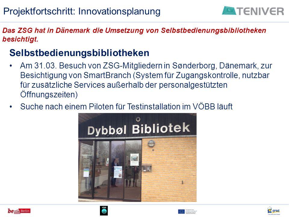 Projektfortschritt: Innovationsplanung