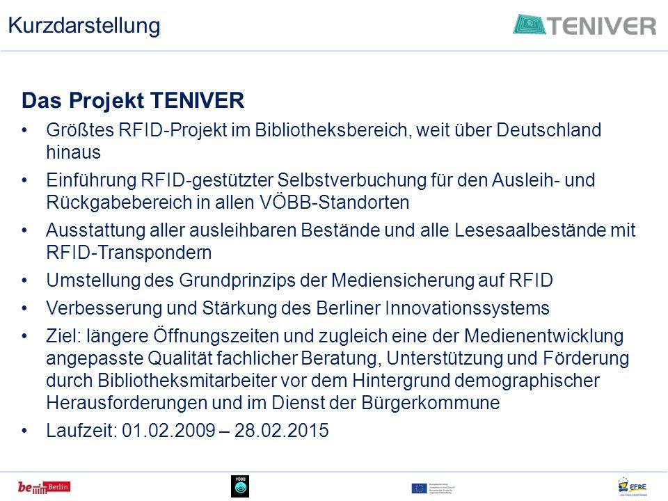 Kurzdarstellung Das Projekt TENIVER