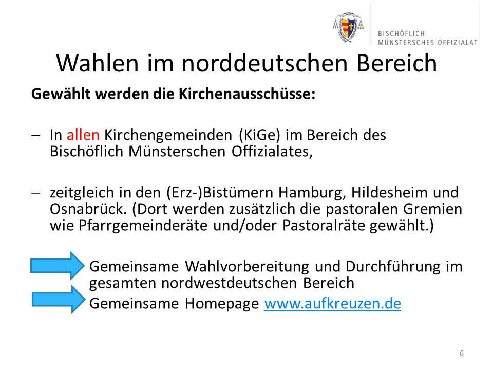 Wahlen im norddeutschen Bereich