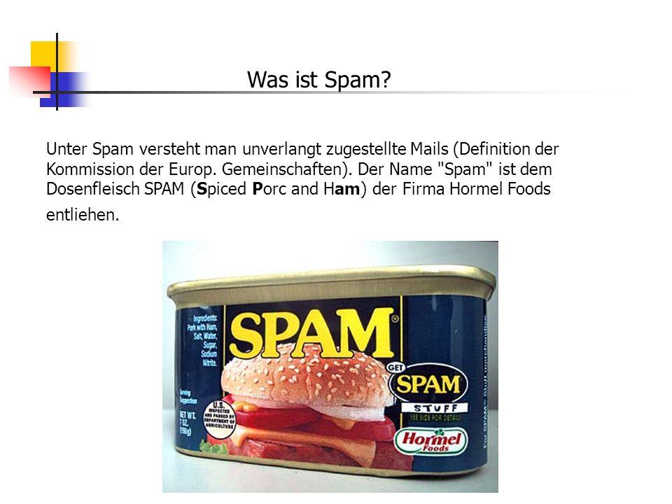 Was ist Spam