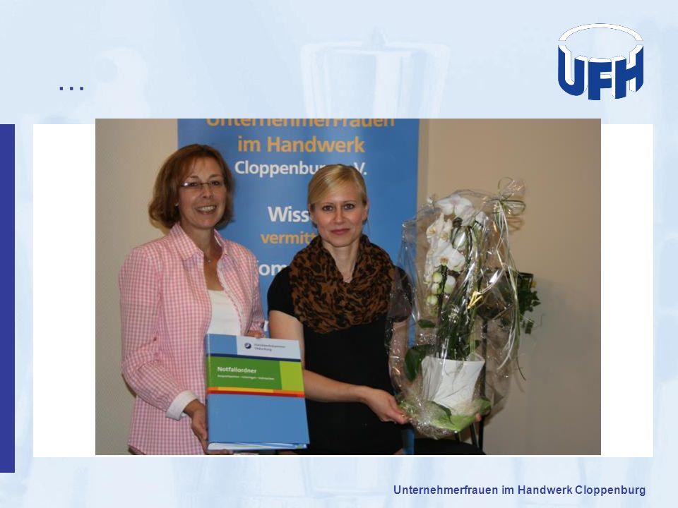 … Unternehmerfrauen im Handwerk Cloppenburg 14