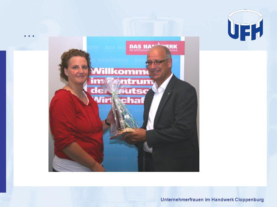 … Unternehmerfrauen im Handwerk Cloppenburg 15