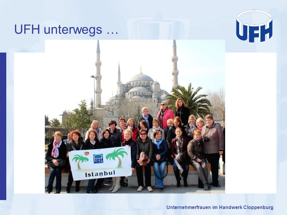 UFH unterwegs … Unternehmerfrauen im Handwerk Cloppenburg 29