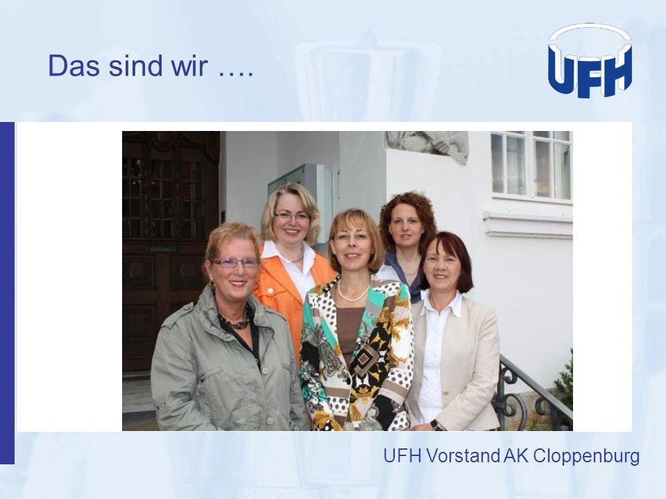 Das sind wir …. UFH Vorstand AK Cloppenburg 4