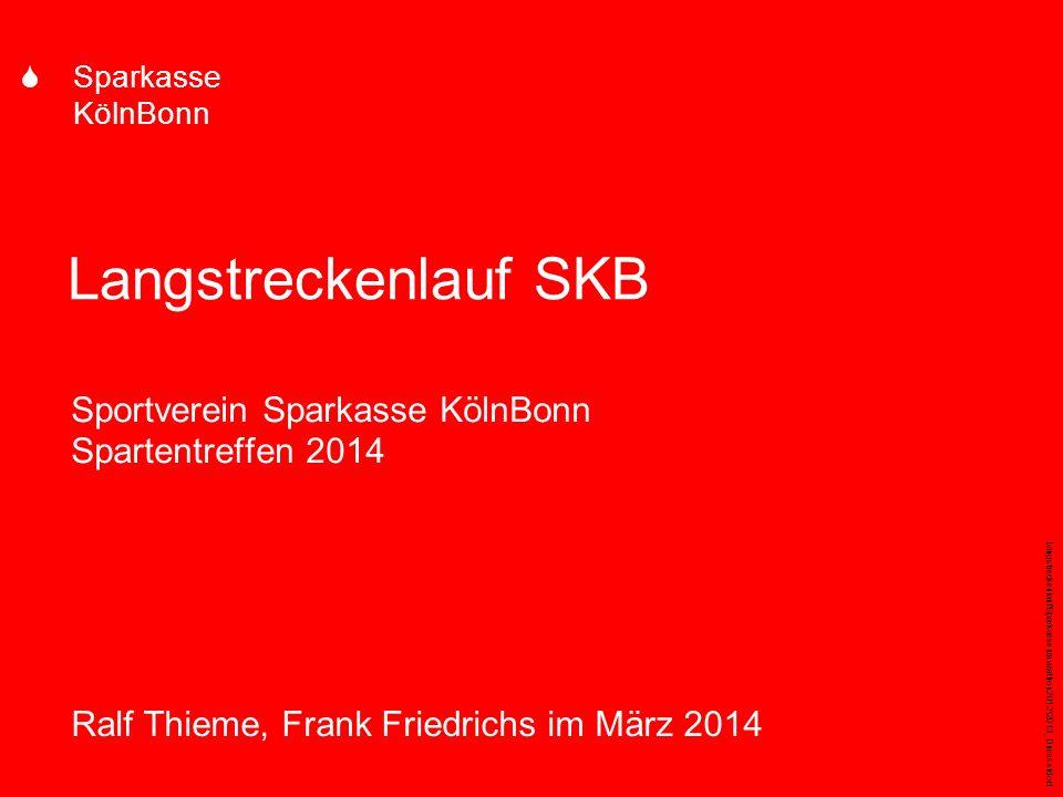 Sportverein Sparkasse KölnBonn Spartentreffen 2014