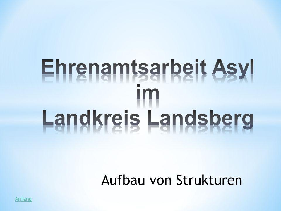 Ehrenamtsarbeit Asyl im Landkreis Landsberg