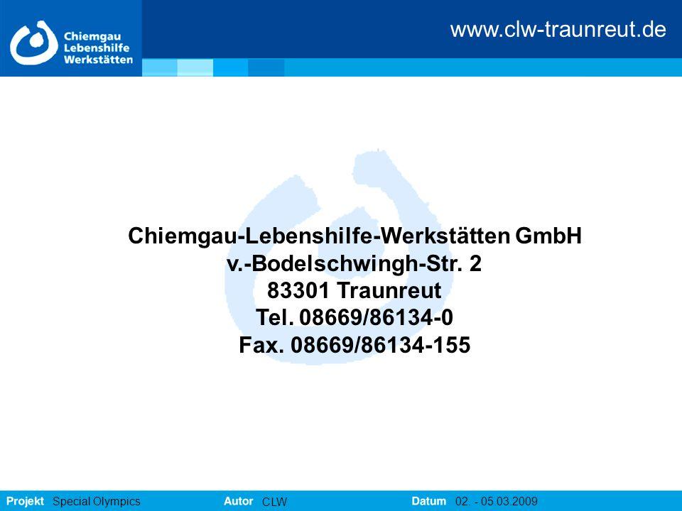 Chiemgau-Lebenshilfe-Werkstätten GmbH