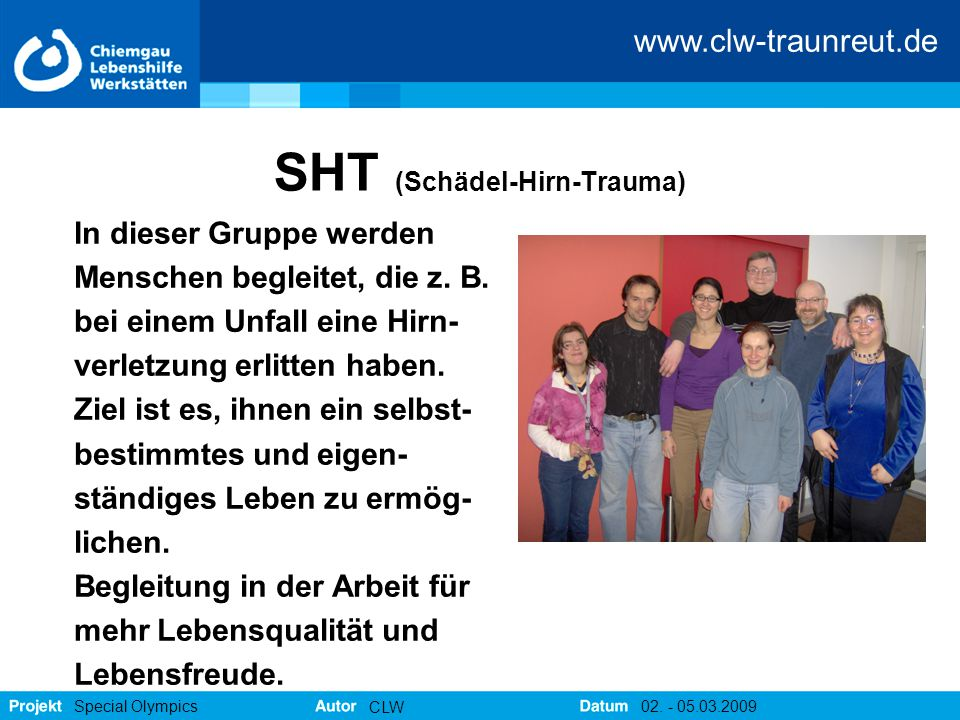 SHT (Schädel-Hirn-Trauma)