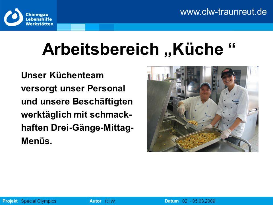 """Arbeitsbereich """"Küche"""