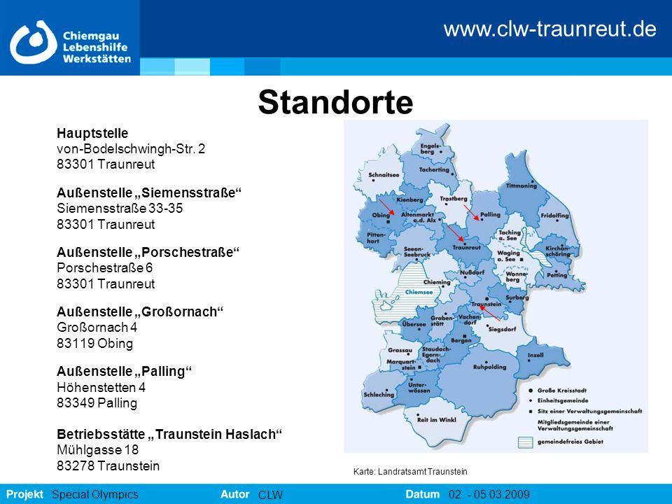 Standorte Hauptstelle von-Bodelschwingh-Str. 2 83301 Traunreut