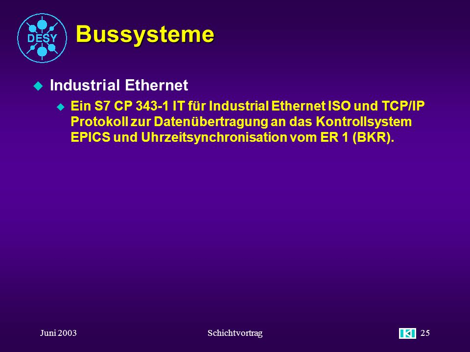 Bussysteme Industrial Ethernet