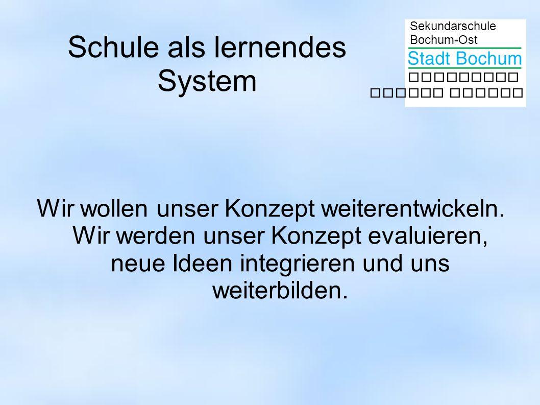 Schule als lernendes System