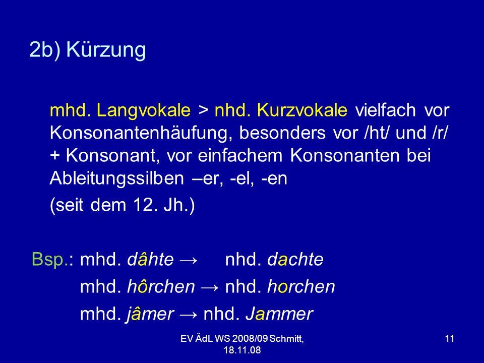 2b) Kürzung