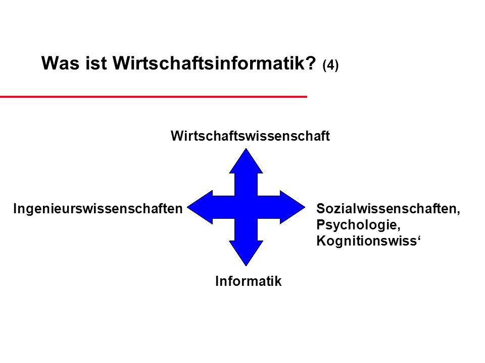 Was ist Wirtschaftsinformatik (4)