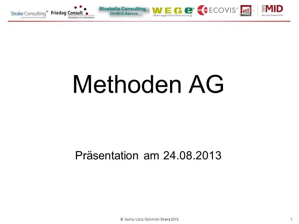 Workshop kennenlernen methoden