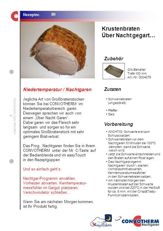 Krustenbraten Über Nacht gegart… Niedertemperatur / Nachtgaren