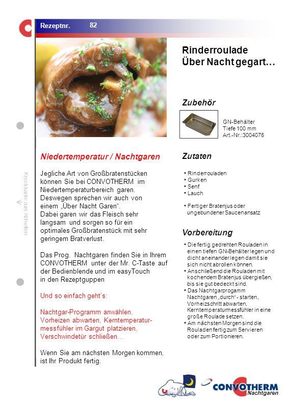Rinderroulade Über Nacht gegart… Niedertemperatur / Nachtgaren