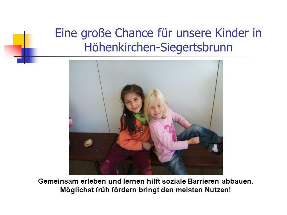 Eine große Chance für unsere Kinder in Höhenkirchen-Siegertsbrunn