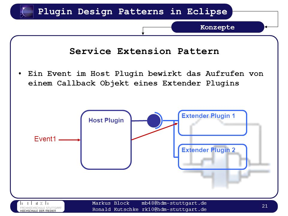 Service Extension Pattern