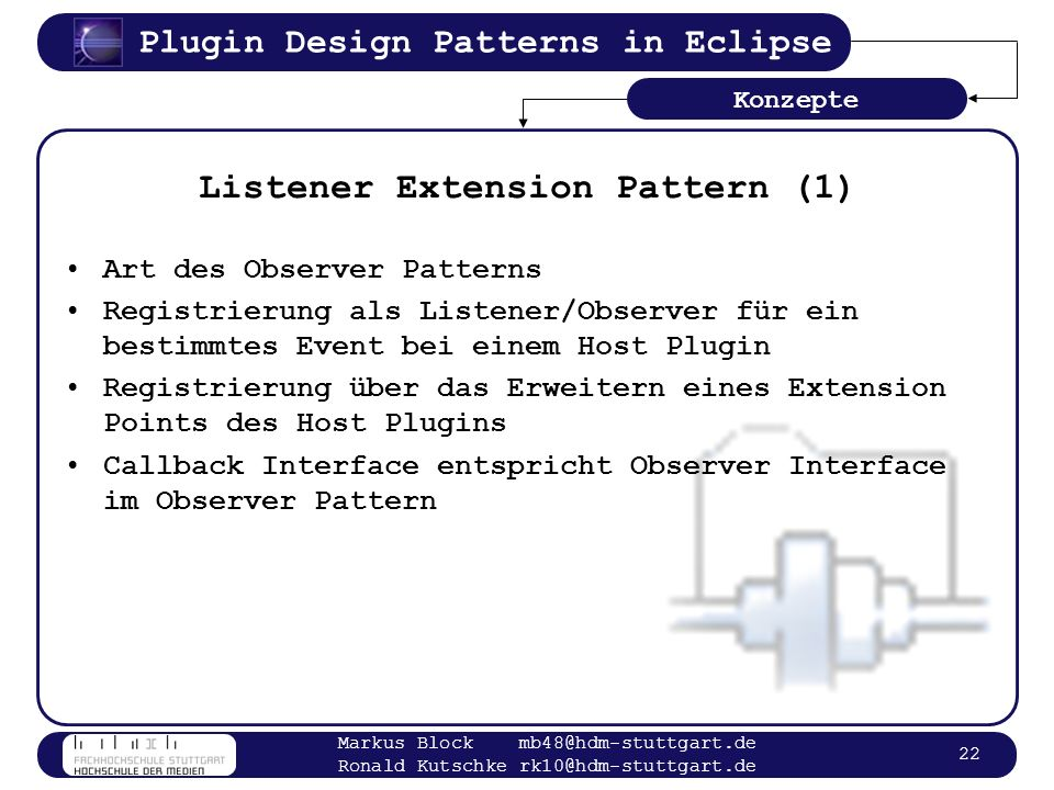 Listener Extension Pattern (1)