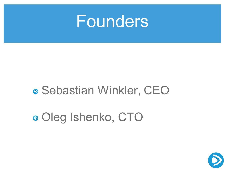 Founders Sebastian Winkler, CEO Oleg Ishenko, CTO