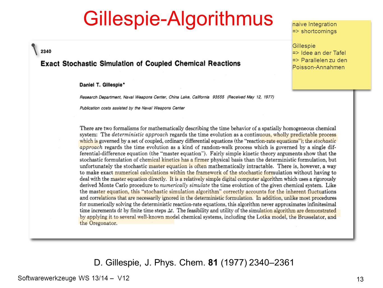 Gillespie-Algorithmus