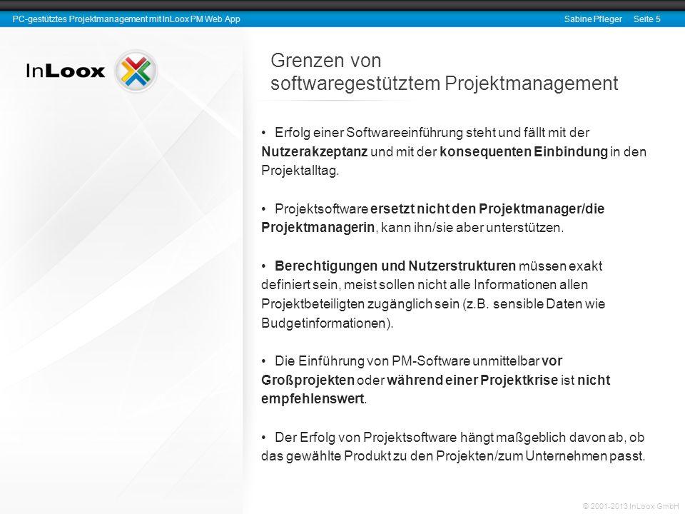softwaregestütztem Projektmanagement