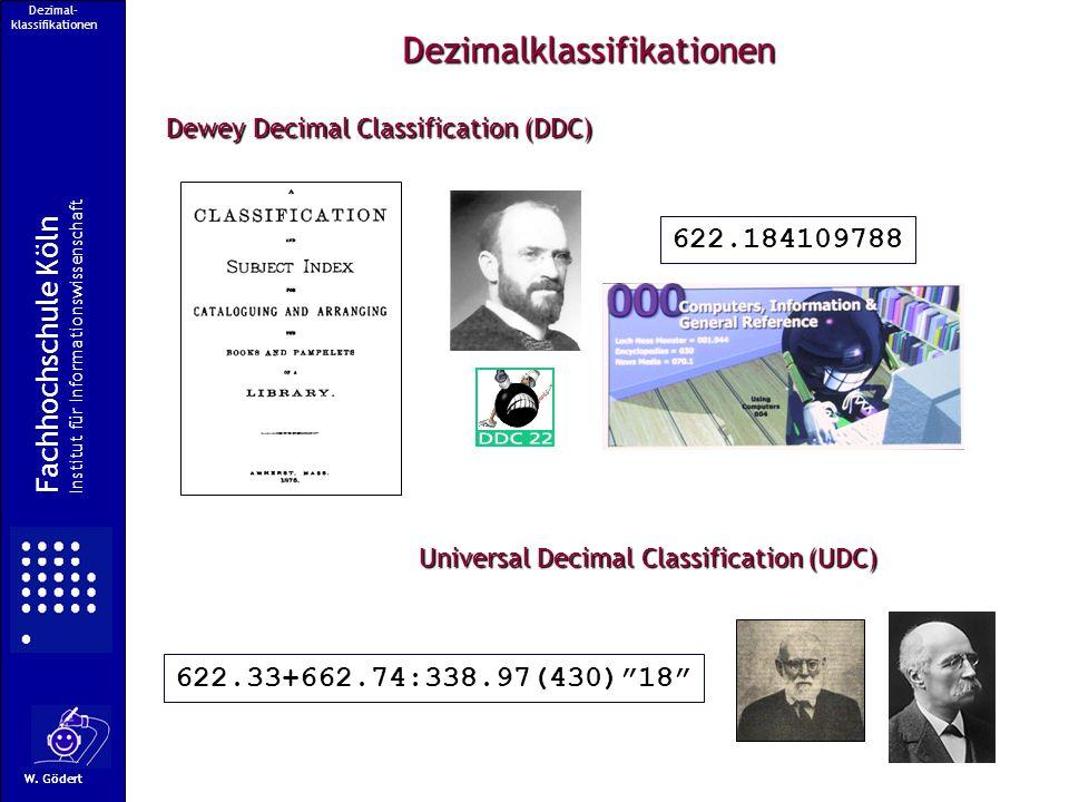 Dezimal-klassifikationen