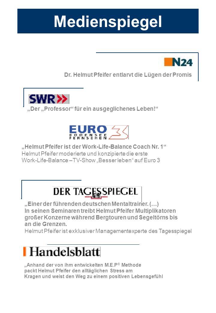 Medienspiegel Dr. Helmut Pfeifer entlarvt die Lügen der Promis
