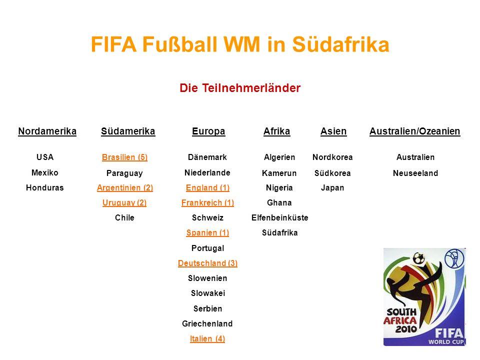 FIFA Fußball WM in Südafrika