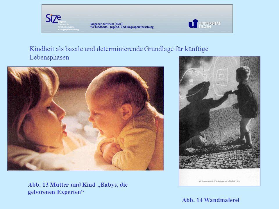 Kindheit als basale und determinierende Grundlage für künftige Lebensphasen