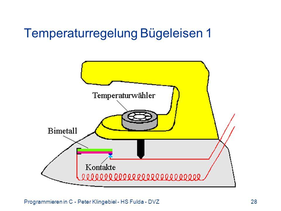 Temperaturregelung Bügeleisen 1