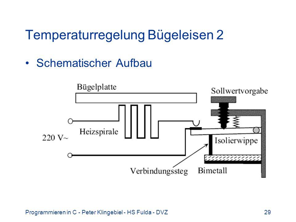 Temperaturregelung Bügeleisen 2