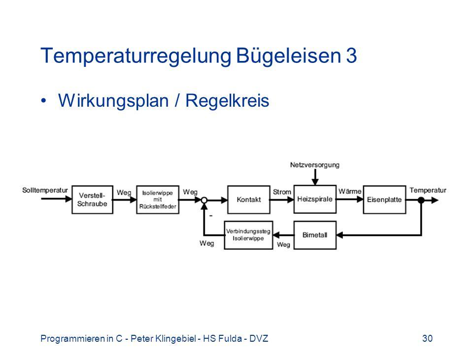 Temperaturregelung Bügeleisen 3