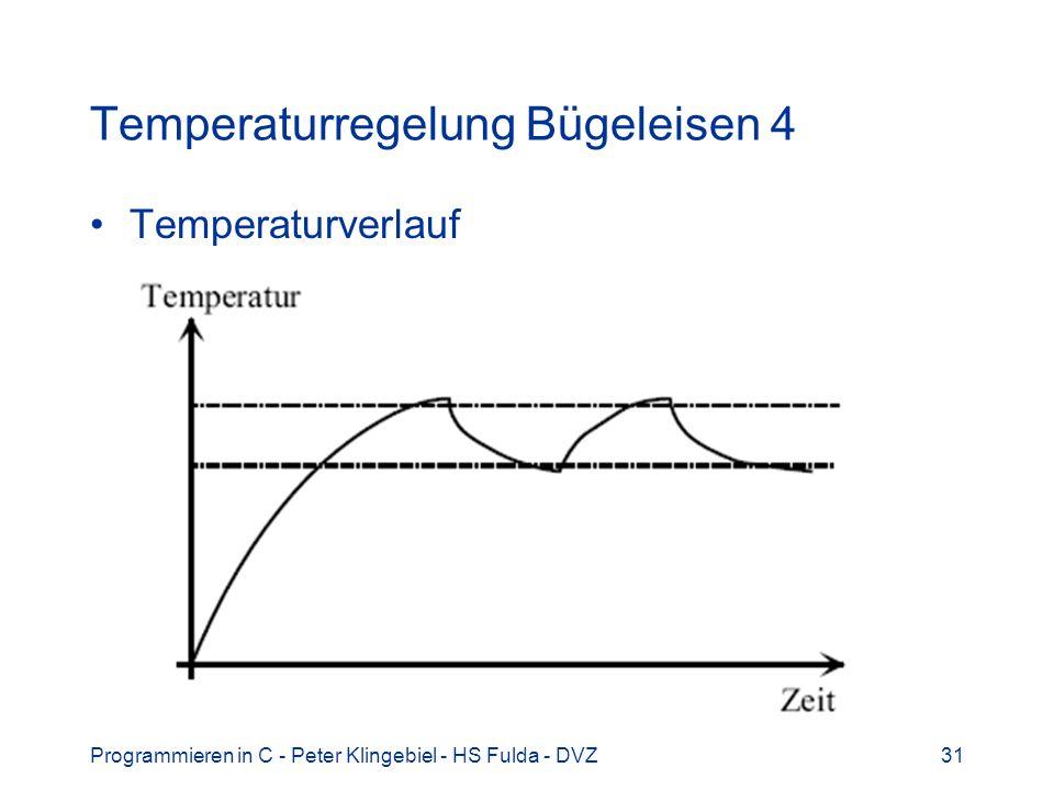 Temperaturregelung Bügeleisen 4