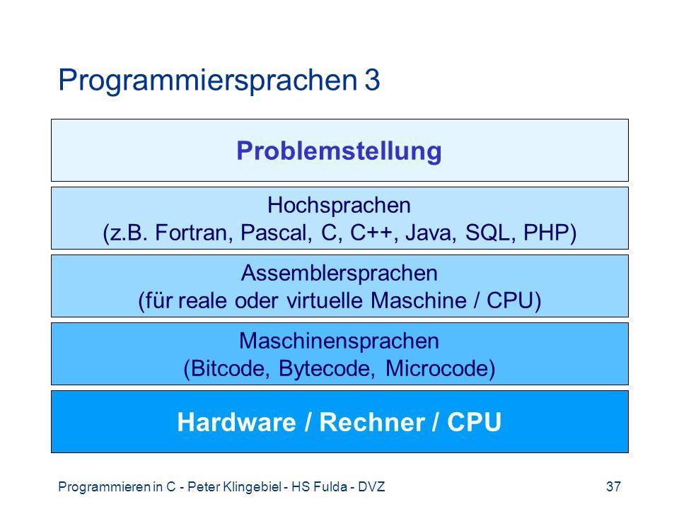 Hardware / Rechner / CPU