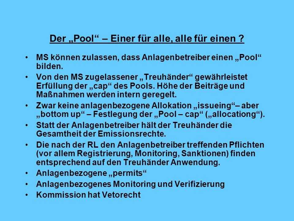 """Der """"Pool – Einer für alle, alle für einen"""