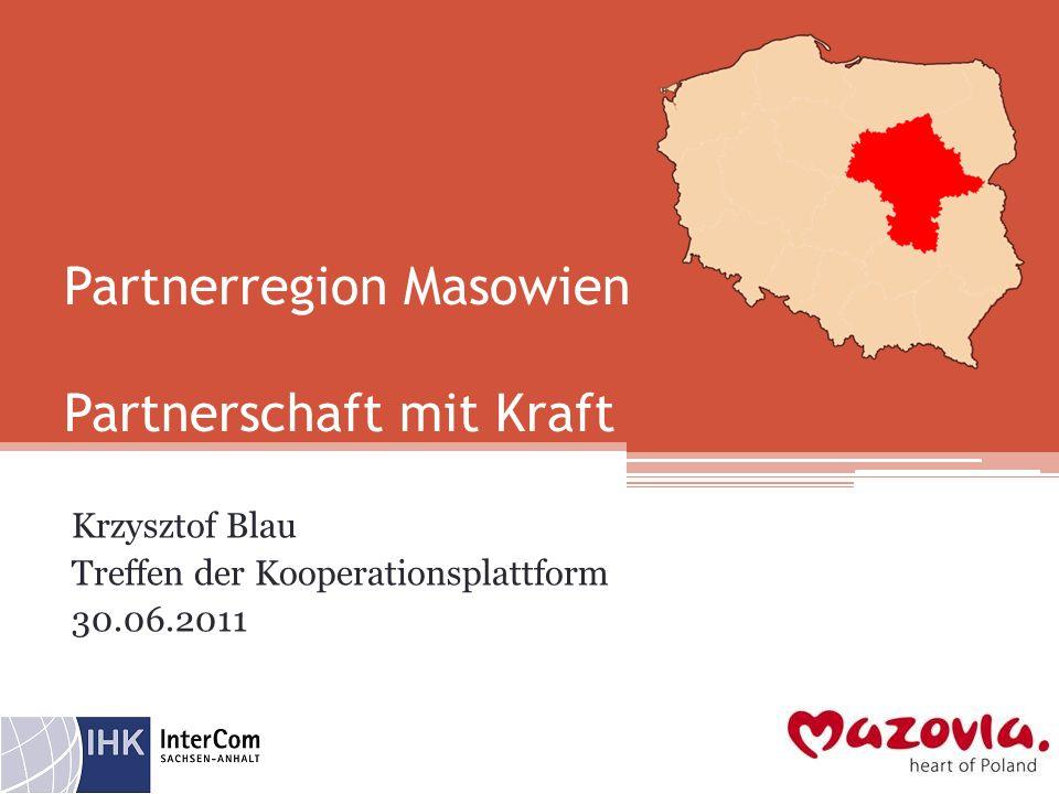 Partnerregion Masowien Partnerschaft mit Kraft