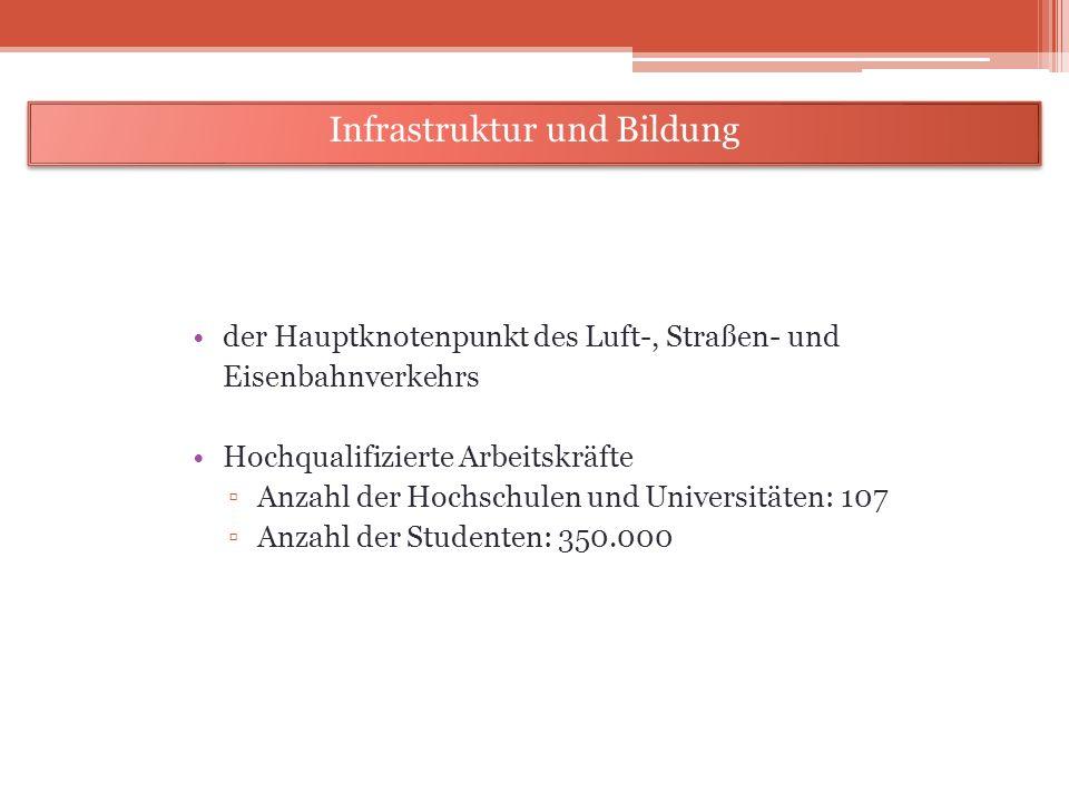Infrastruktur und Bildung