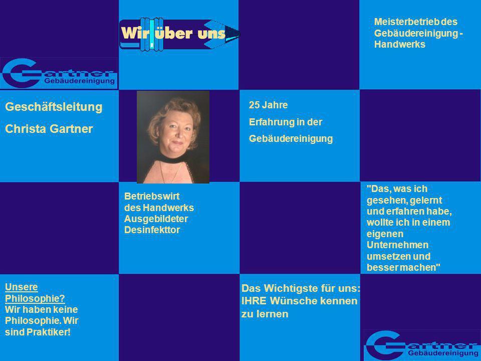 Geschäftsleitung Christa Gartner