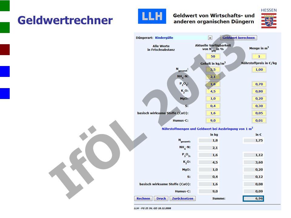 Geldwertrechner IfÖL 2013
