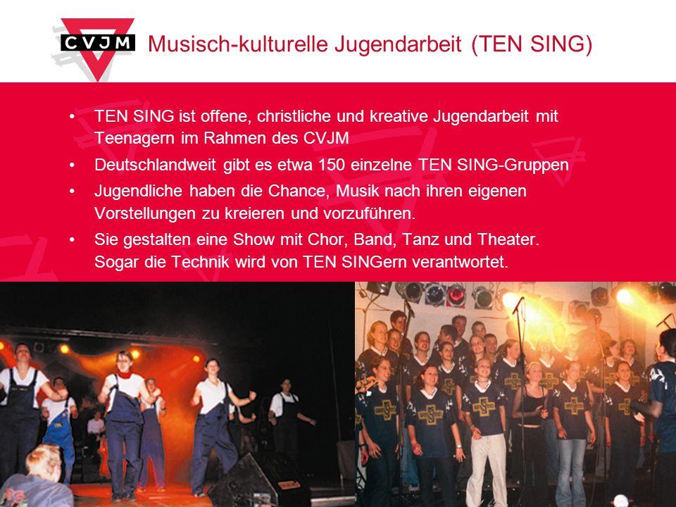 Musisch-kulturelle Jugendarbeit (TEN SING)