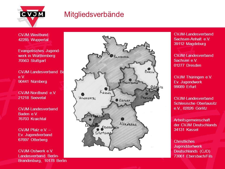 Mitgliedsverbände CVJM-Westbund 42285 Wuppertal