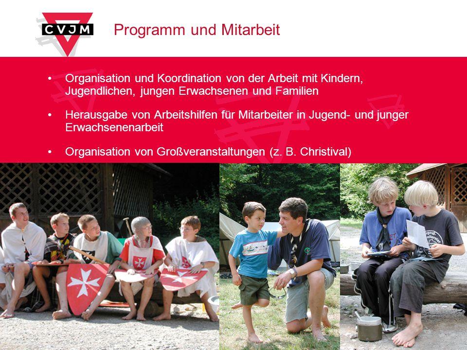 Programm und Mitarbeit