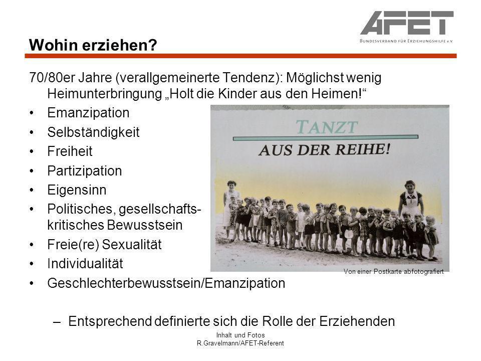 Inhalt und Fotos R.Gravelmann/AFET-Referent