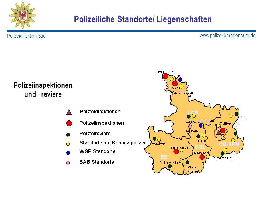 Polizeiliche Standorte/ Liegenschaften