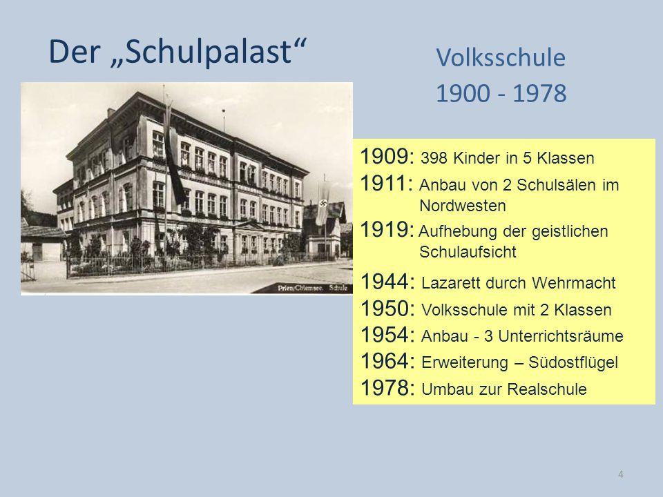 "Der ""Schulpalast Volksschule 1900 - 1978"
