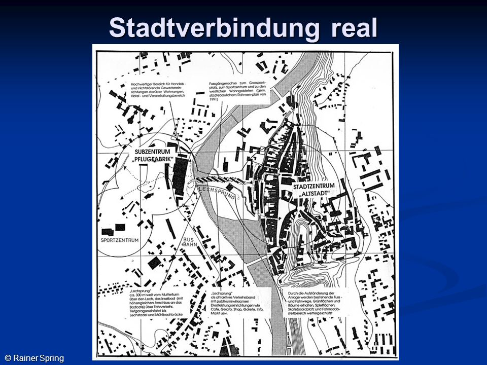 Stadtverbindung real © Rainer Spring